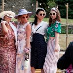 Paula James, Sarah Gobran, Sally Cheng and Natasha Rickman as Maria, Princess of France, Katherine and Rosaline
