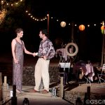 Natasha Rickman and James Sheldon as Rosaline and Dumaine