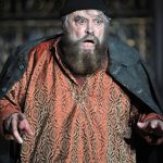 Brian Blessed as King Lear
