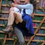 Owen Findlay and Aisla Joy as Lysander and Hermia