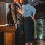 Graeme Dalling and Hannah Edwards as Isabella and Angela