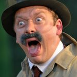 Morgan Philpott as Frank Ford in The Merry Wives of Windsor