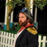 Michael Geary as Sir John Falstaff in The Merry Wives of Windsor