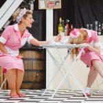 Sarah Gobran and Meghan Tyler as Lucetta and Julia