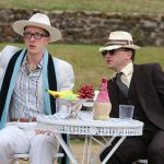 Christopher York and Matt Pinches as Lucentio and Tranio