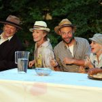 Rob Whitcomb, Johanne Murdock, Chris Porter, Nicole Hartley in The Taming of the Shrew