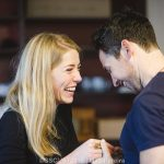 Hannah Morrish and Gavin Fowler in Rehearsals