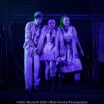 Dan Krikler, Lucy Pearson, Annabelle Terry as the Weird Sisters