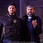 Jack Whitam and Eric MacLennan as Macbeth and Duncan
