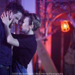 Jack Whitam and Stella Taylor as Macbeth and Lady Macbeth