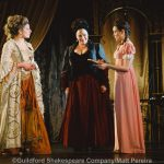 Sarah Goran, Harriet Thorpe and Lucy Pearson as Lady Capulet, Nurse and Juliet