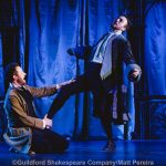 Jack Whitam and Robert Elkin as Mercutio and Benvolio