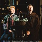 Ricky Oakley and Noel White as Romeo and Friar Lawrence
