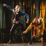 Ricky Oakley and Rikki Lawton as Romeo and Tybalt