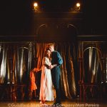 Lucy Pearson and Ricky Oakley as Juliet and Romeo