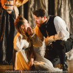 Lucy Pearson and Gordon Cooper as Juliet and Lord Capulet