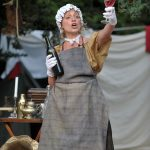 Sarah Gobran as Phoebe in As You Like It