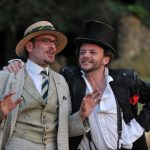 Richard Delaney and Matt Pinches in As You Like It