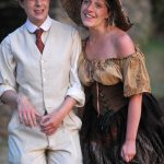 Rhiannon Sommers and Sarah Gobran as Rosalind and Phoebe in As You Like It