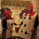 Angie Wallis and Simon Nock as Playing Cards