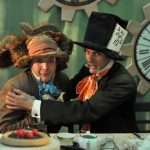 Christopher York and Alex Scott Fairley as the March Hare and the Mad Hatter