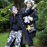 Johanne Murdock and Alex Scott Fairley as Puck and First Fairy