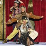 Jack Bannell, Matt Pinches and Alex Scott Fairley as Snout, Bottom and Flute