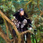 Johanne Murdock as Puck in A Midsummer Night's Dream