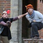 Chris Porter and Richard Galazka in Henry V