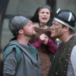 Matt Pinches and Richard Galazka in Henry V