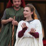Matt Pinches and Emily Tucker in Henry V
