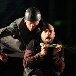 Matt Pinches and Chris Porter in Henry V