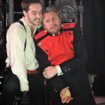 Ben Ashton and Noel White in Hamlet