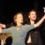 Johanne Murdock and Ben Ashton in Hamlet