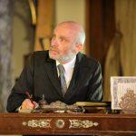 Edward Halsted as Polonius in Hamlet