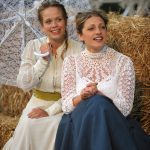 Ellie Beaven and Sarah Gobran as Hero and Beatrice in Much Ado About Nothing