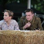 Rachel Donovan and James Loye as Margaret and Claudio in Much Ado About Nothing