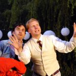 Tom Peters and Simon Nock in The Two Gentlemen of Verona