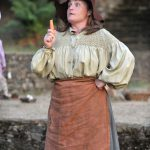 Angie Wallis as Audrey in As You Like It