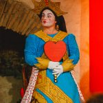Angie Wallis as The Queen of Hearts